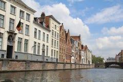 Chapelet Quay de Rozenhoedkaai Photo libre de droits