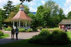 Chapelfield ogródy, Norwich centrum miasta, Norfolk, Anglia fotografia royalty free