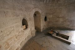 Chapell Of The Ascension Of Jesus Royalty Free Stock Images