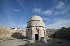 Chapell van de Beklimming van Jesus stock afbeeldingen