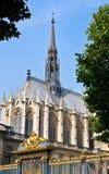 chapelle法国巴黎sainte 图库摄影