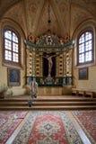 Chapelle à l'église du St Francis et du St Bernard photographie stock libre de droits