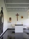 Chapelle à l'aéroport de Lublin, Pologne Photographie stock