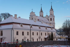 Chapelle à Vilnius image stock