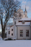 Chapelle à Vilnius image libre de droits