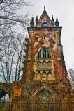 Chapelle Осень Россия, городок Pushkin, Tsarskoe Selo Парк Александра Стоковые Фотографии RF