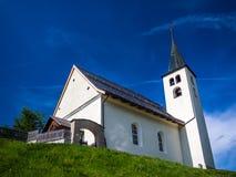 Chapelle alpestre Image stock