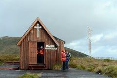 Chapelle au bord de la terre Le Cap Horn beau chiffre dimensionnel illustration trois du sud de 3d Amérique très Photographie stock