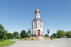 Chapelle au cimetière photographie stock libre de droits