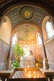 Chapelle avec l'autel Photo stock