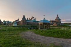 Chapelle-axe près de Solovetsky Kremlin photo stock