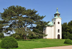 Chapelle in beautiful landscape Royalty Free Stock Image