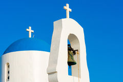 Chapelle blanche Protaras, Chypre Photo stock