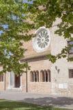 Chapelle catholique à Bath de Hercule, Roumanie Photographie stock