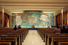 Chapelle catholique Images libres de droits