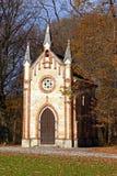 Chapelle catholique dans la forêt photo stock