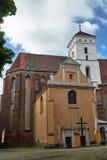 Chapelle d'une église catholique gothique de c image stock