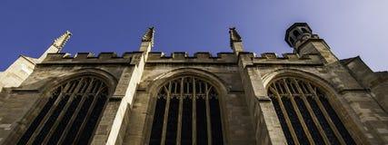 Chapelle d'université d'Eton Images libres de droits