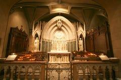 Chapelle dans la cathédrale Images stock