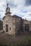 Chapelle dans la pierre religieuse dans la restauration, Portugal Images libres de droits