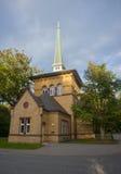 Chapelle dans le cimetière d'ohlsdorf Photographie stock libre de droits
