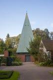 Chapelle dans le cimetière d'ohlsdorf Photos libres de droits