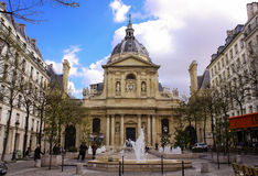 Chapelle de Ла Sorbonne Стоковые Изображения RF