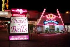 Chapelle de Bells Las Vegas Images libres de droits