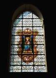 Chapelle de Bois-Seigneur-Isaac Stock Photo