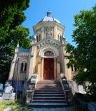 Chapelle de cimetière de ville de Timisoara Photos stock
