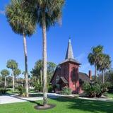 Chapelle de foi d'île de Jekyll photo stock