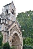 chapelle de jak dans le château de Vajdahunyad à Budapest Photographie stock