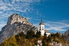Chapelle de Johannesberg, Traunkirchen Photographie stock libre de droits