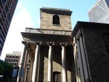 Chapelle de King's, Tremont et rue d'école, Boston, le Massachusetts, Etats-Unis Photographie stock