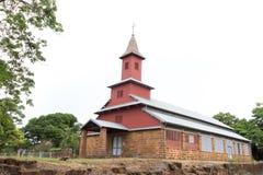 Chapelle de l& x27; ÃŽle Royale, kyrka av Royale Island Royaltyfri Foto