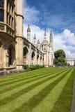 Chapelle de l'université du roi. Cambridge. LE R-U. Photos stock