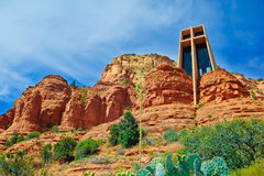 Chapelle de la croix sainte dans Sedona Arizona photo libre de droits
