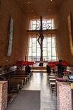 Chapelle de la croix sainte Sedona AZ images libres de droits