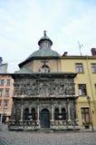 Chapelle de la famille de Boim à Lviv Photo libre de droits