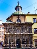 Chapelle de la famille de Boim, Lviv Photographie stock libre de droits