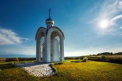 Chapelle de la foi, de l'espoir, de l'amour et de leur mère Sofia La Sibérie, Russ photographie stock libre de droits