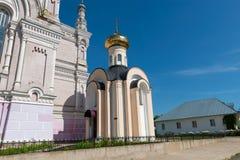 Chapelle de la foi, de l'espoir, de l'amour et de leur mère Sophia Photos libres de droits