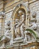 Chapelle de la Madeleine à Bruxelles, Belgique Photographie stock libre de droits