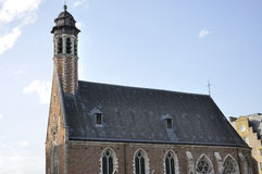 Chapelle de la Madeleine located in Brussels (Belgium) Royalty Free Stock Photography
