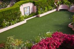Chapelle de mariage de jardin image libre de droits