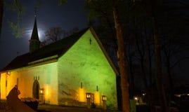 Chapelle de Merklinghauser dans la ville allemande Hallenberg Photographie stock libre de droits