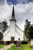 Chapelle de Mohawk dans Brantford, Canada Photos stock