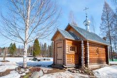 Chapelle de monastère de Pavlo Obnorski Photos stock