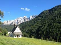 Chapelle de montagne image libre de droits