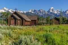 Chapelle de montagne photos stock